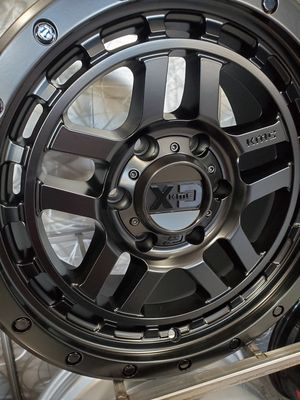 17x9 5x127 or 6x139 -12 fit wrangler jeep Tacoma toyota 4runner wheel tire shop for Sale in Tempe, AZ