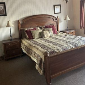 King bed, Futon, Couch, Desk for Sale in Brea, CA