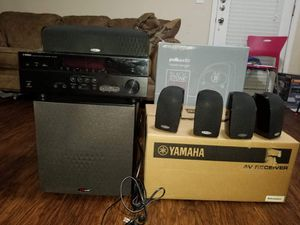 7.2 AV Receiver w/5.1 Home Theatre Sound System for Sale in Alpharetta, GA