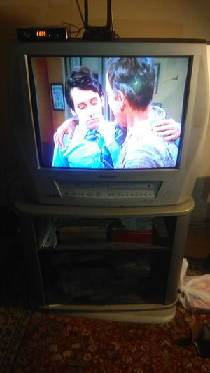 Panasonic TV with stand for Sale in Alexandria, VA