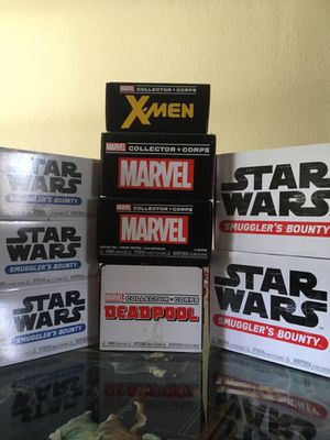 Collector corps boxes- for Sale in Pinellas Park, FL
