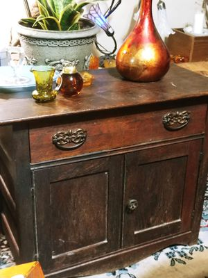 30x16deepx24tall Antique Dry Sink or Child's Dresser for Sale in Gresham, OR