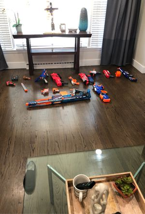 All nerf guns lightly used for Sale in Chicago, IL