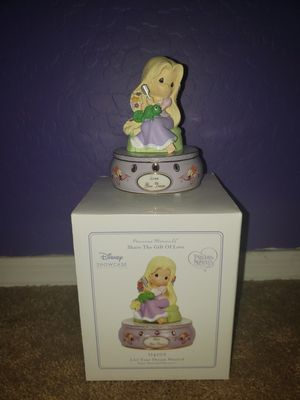 Disney Tangled precious moments music statue for Sale in Surprise, AZ