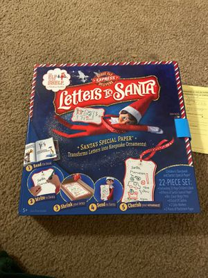 Letters to Santa book and activity for Sale in San Jose, CA