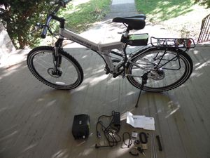 X-Treme E. Bike Electric Lithium Powered X-Cursion Folding Mountain Bicycle NOS for Sale in Upper Darby, PA