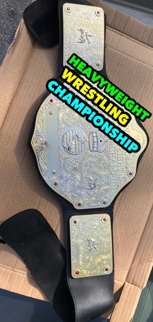 Kids wrestling championship belt firm price for Sale in Glendale, CA