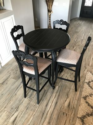Black high top dining table for Sale in Waddell, AZ