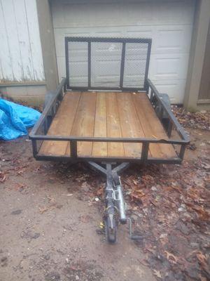5x8 trailor steel frame treated lumber deck for Sale in Davisville, WV