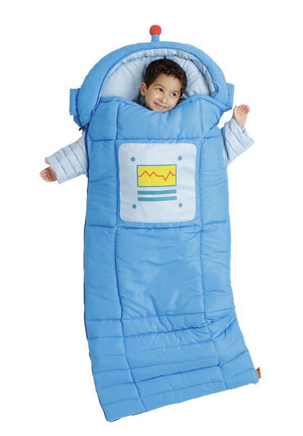 Sparky the Robot Kid's Sleeping Bag