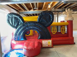 Mickey Mouse bounce house with ball pit for Sale in Parker, CO