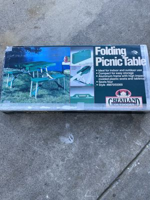 Folding picnic table for Sale in Torrance, CA