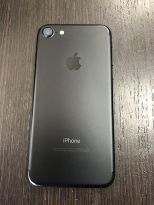 Black iPhone 7 for T-Mobile network for Sale in North Las Vegas, NV
