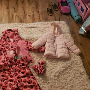 Ladybug Snow Clothes/ Old Navy Snow Jacket for Sale in Artesia, CA