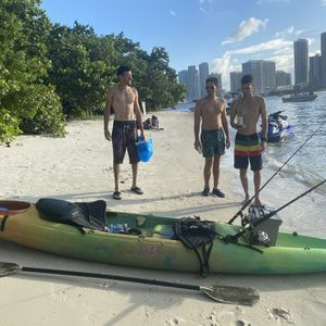 Kayak 2 Seats No Cracks No Leaks With Paddles for Sale in Miami, FL