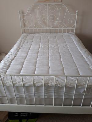 3 piece: full size mattress, box spring, bed frame for Sale in Burton, MI
