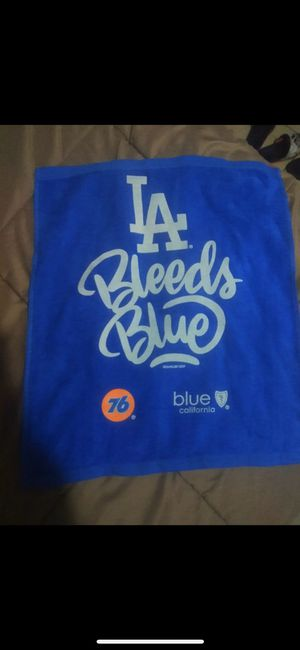 Dodgers rally towel for Sale in Santa Maria, CA