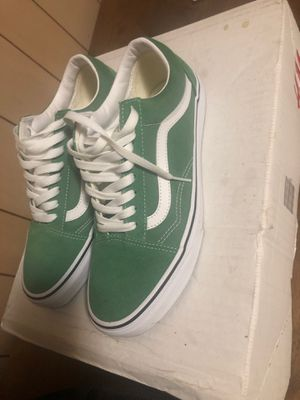 Vans size 9 - Green for Sale in Lakewood, CO