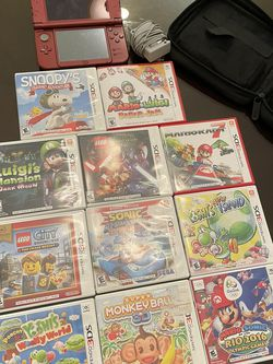 **NINTENDO 3DS AND GAMES BUNDLE** for Sale in Glastonbury,  CT