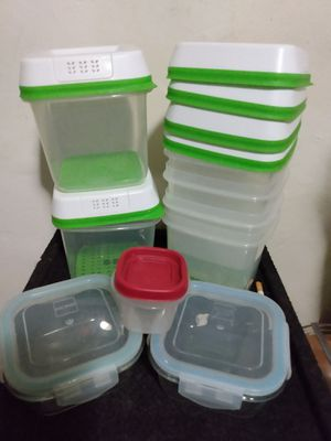 Rubbermaid containers for Sale in Phoenix, AZ