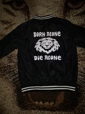 Born Alone Die Alone Custom Jacket for Sale in Fort Worth, TX