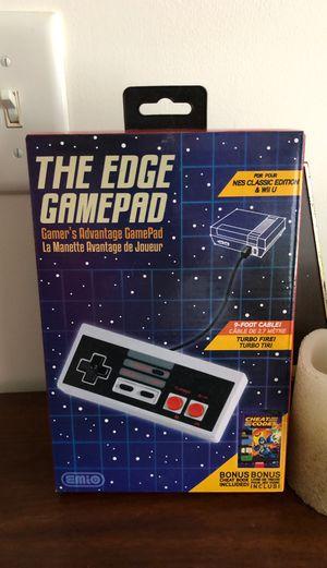 Nintendo NES Classic Wii U The Edge Gamepad Video Game Controller New for Sale in Lehighton, PA