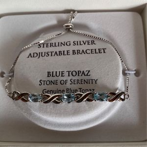 Stunning Blue Topaz Bracelet for Sale in New Port Richey, FL