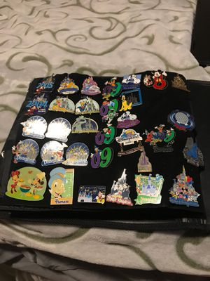 Disney pins castles/ years collection (PRICES VARY ON PIN) for Sale in Rancho Cucamonga, CA