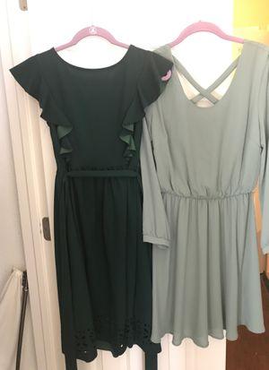 Green dresses for Sale in Oakley, CA