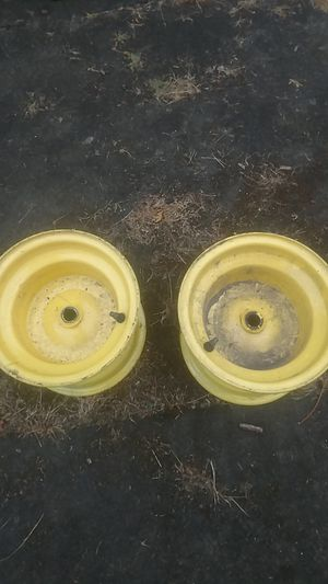 John Deere tractor rear wheels for Sale in Gig Harbor, WA