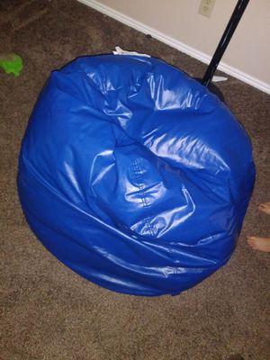 Kids blue bean bag chair for Sale in Sandy, UT