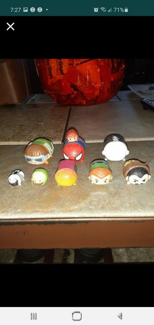 Disney Marvel Spiderman Tsum Tsum 9 pack for Sale in St. Petersburg, FL