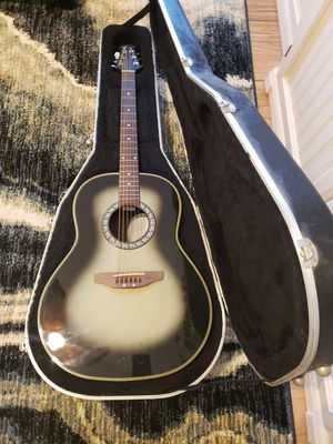 Ovation Celebraty 11-B model number with hard shell case for Sale in Westminster, CO