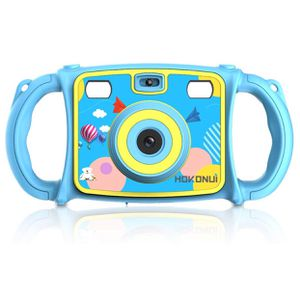 Hokonui Kids Camera, Digital Action Camera Camcorder with 1080P HD Video Recorder Non-Slip and Anti-Drop Design for Boys Girls Includes 16GB Memory C for Sale in University City, MO