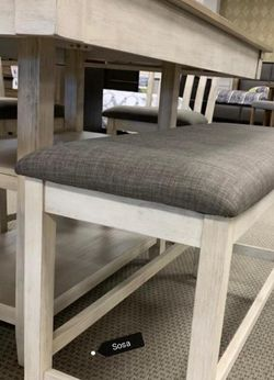 5 Piece 💥Fast Delivery Nina White Counter Height Set ♦️ for Sale in Silver Spring,  MD