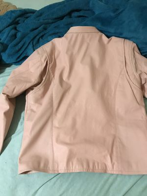 Women's pink motorcycle jacket XL for Sale in Sheffield Lake, OH