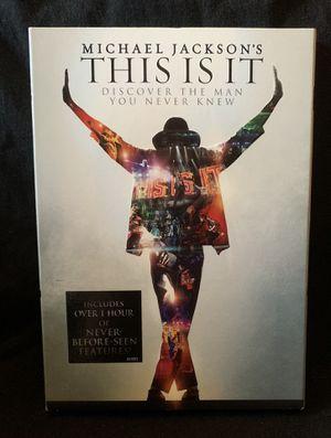Michael Jackson movie for Sale in Lexington, SC