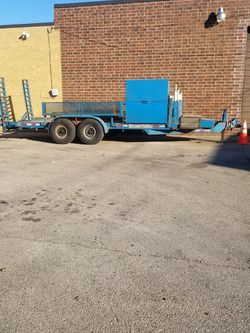 Cronkite equipment Trailer 15,000 Lbs Gross Weight. for Sale in Bellwood,  IL