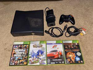 Xbox 360 w/ Controller GTA 5 Sonic Mortal Kombat Racing Game for Sale in Whittier, CA