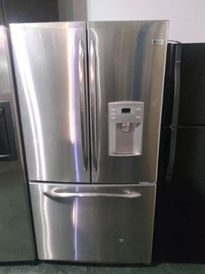 French door stainless steel refrigerator $600 for Sale in Altamonte Springs, FL