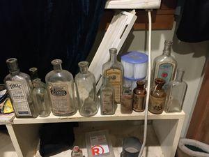 Old medicine bottles for Sale in Kent, WA