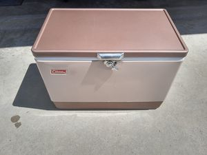 Vintage cooler ice chest for Sale in Corona, CA