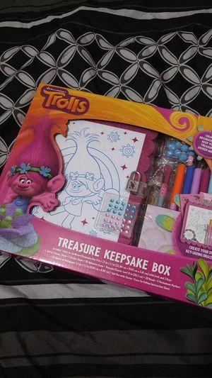Troll Treasure Keepsake Box for Sale in Etiwanda, CA