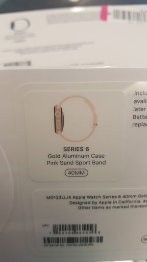 Apple watch 6 new pay low down no credit req for Sale in Houston, TX