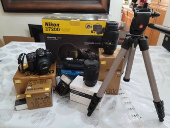 Nikon D7200 photography kit for Sale in San Jose,  CA