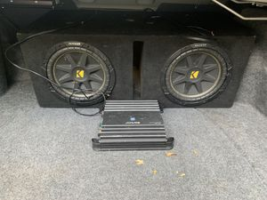Amps and speakers for Sale in Stonecrest, GA