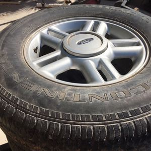 Set Of 17 Inch Rims For $25 for Sale in Nellis Air Force Base, NV