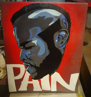 Clubber Lang Wall Canvas for Sale in DW GDNS, TX