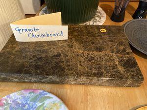 Granite cheeseboard for Sale in White Bear Lake, MN