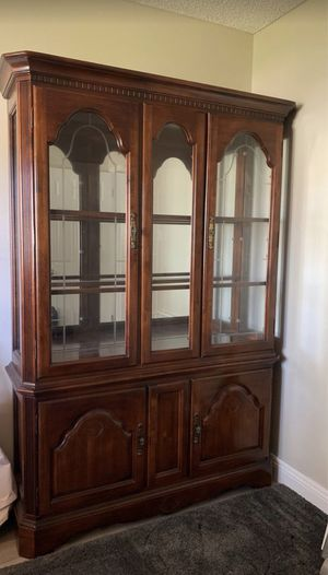 Antique China Hutch for Sale in Cypress, CA